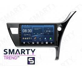 Toyota Corolla 2017+ RHD Autoradio Android Con Navigazione Integrata Unità di Testa