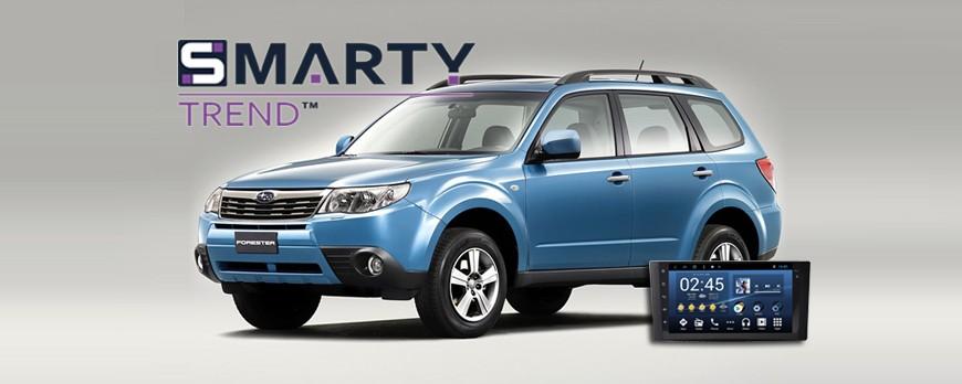 Subaru Forester Android Autoradio Con Navigazione Incorporata Unità di Testa - SMARTY Trend