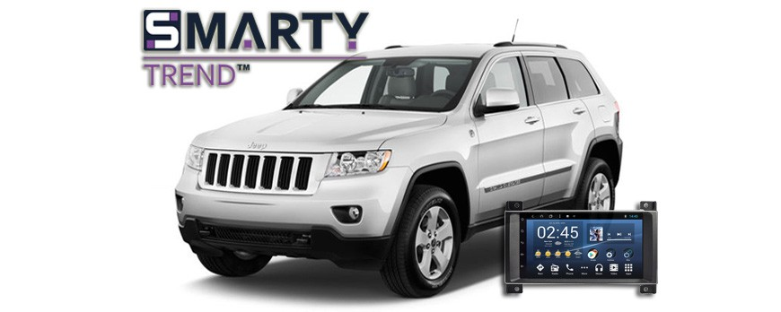 Jeep Grand Cherokee Android Autoradio Con Navigazione Incorporata Unità di Testa - SMARTY Trend
