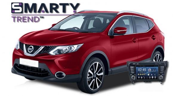 Nissan Qashqai Android Autoradio Con Navigazione Incorporata Unità di Testa - SMARTY Trend