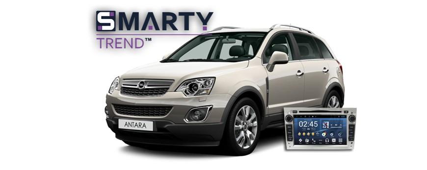Opel Antara Android Autoradio Con Navigazione Incorporata Unità di Testa - SMARTY Trend