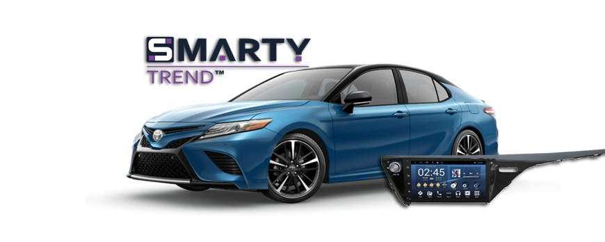 Toyota Camry XV70 Android Autoradio con GPS Integrato Unità di Testa - SMARTY Trend.