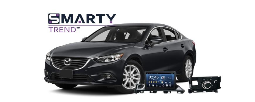 Mazda 6 2015+ Android Autoradio Con GPS Integrato Unità di Testa - SMARTY Trend.