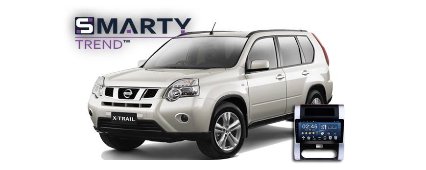 Nissan X-Trail 2010 Android Autoradio Con GPS Integrato Unità di Testa - SMARTY Trend.