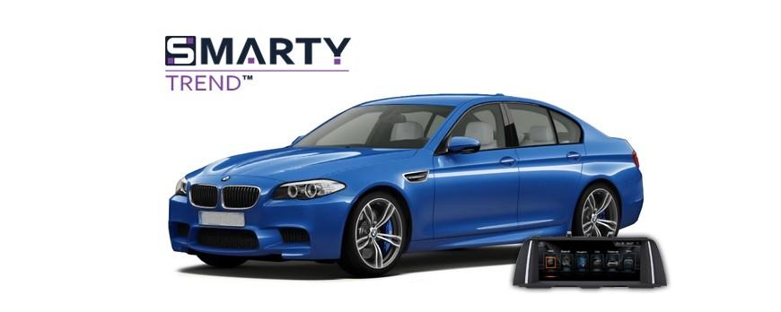 BMW F10 Android Autoradio Con GPS Integrato Unità di Testa - SMARTY Trend.