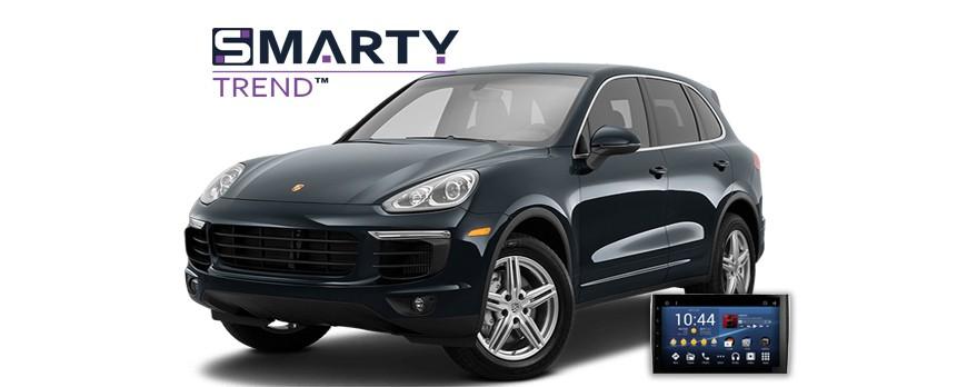 Porsche Cayenne Android Autoradio Con GPS Integrato Unità di Testa - SMARTY Trend.