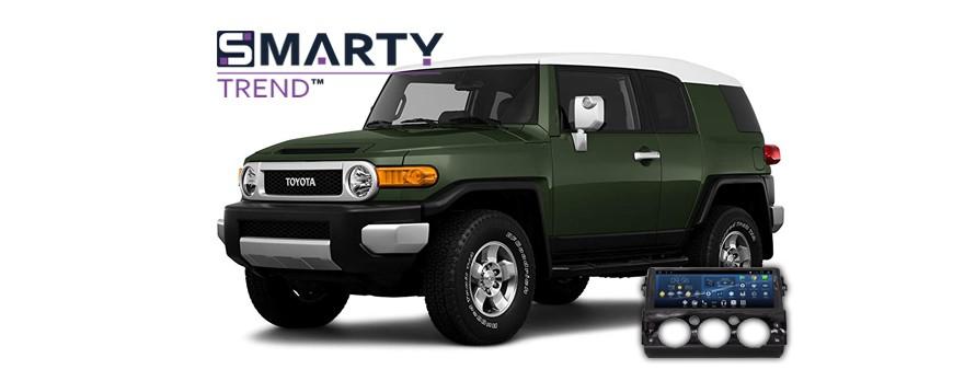 Toyota FJ Cruiser Android Autoradio Con GPS Integrato Unità di Testa - SMARTY Trend.
