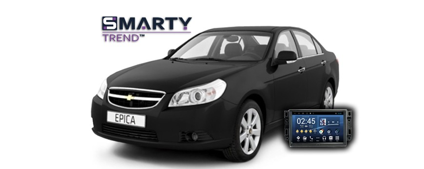 Chevrolet Epica Android Autoradio Con GPS Integrato Unità di Testa - SMARTY Trend.
