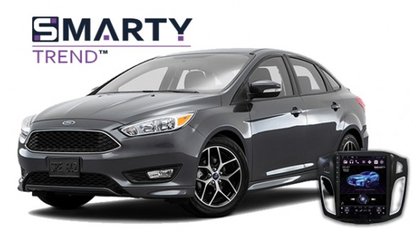 Ford Focus III Android Autoradio Con GPS Integrato Unità di Testa - SMARTY Trend.