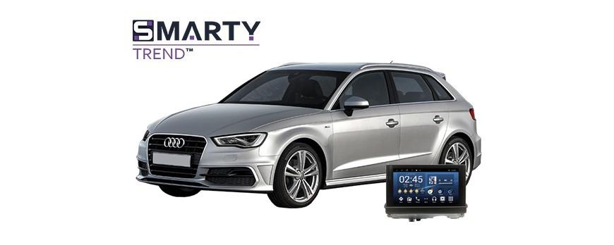 Audi A3 2014 Android Autoradio Con GPS Integrato Unità di Testa - SMARTY Trend.
