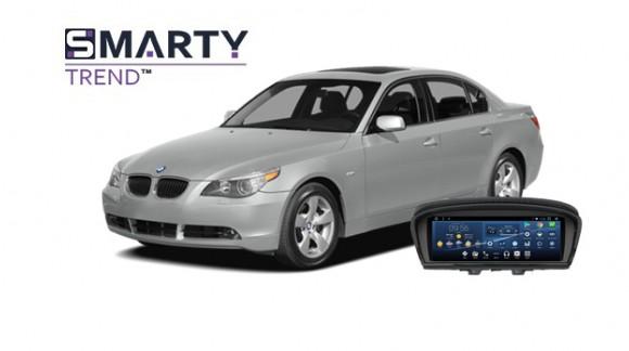 BMW 5 Series (E60) Android Autoradio Con GPS Integrato Unità di Testa - SMARTY Trend.
