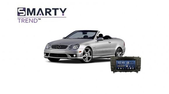 Mercedes-Benz CLK-CLASS (W209) Android Autoradio Con GPS Integrato Unità di Testa - SMARTY Trend.