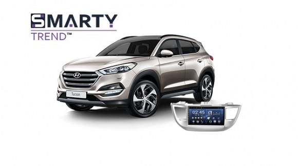 Hyundai Tucson 2016 Android Autoradio Con GPS Integrato Unità di Testa - SMARTY Trend.