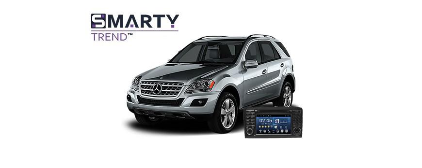 Mercedes-Benz ML-Class (W164) Android Autoradio Con GPS Integrato Unità di Testa - SMARTY Trend.