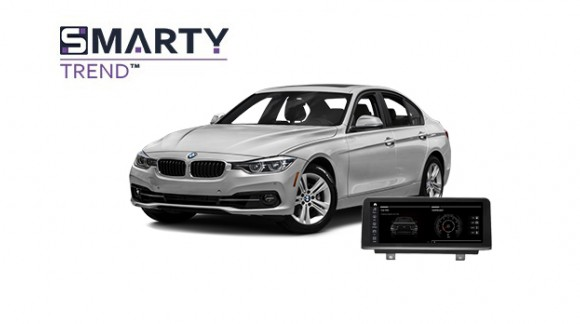 BMW 320 (F30) 2012 Android Autoradio Con GPS Integrato Unità di Testa - SMARTY Trend.