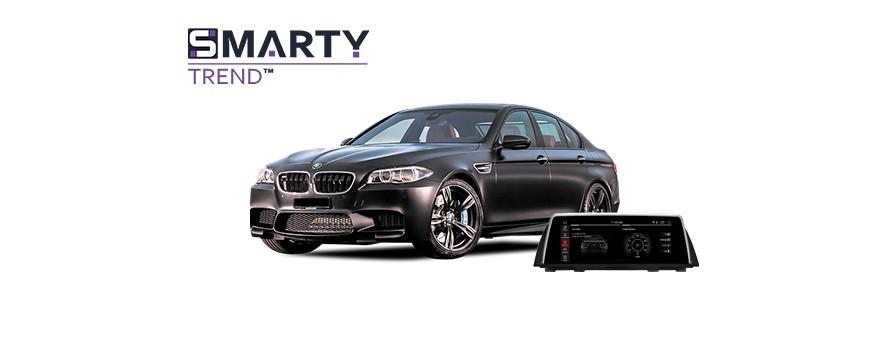 BMW 5 SERIES F10 2012 Android Autoradio Con GPS Integrato Unità di Testa - SMARTY Trend.
