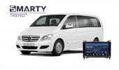 Mercedes-Benz Viano 2011 Android Autoradio Con GPS Integrato Unità di Testa - SMARTY Trend.