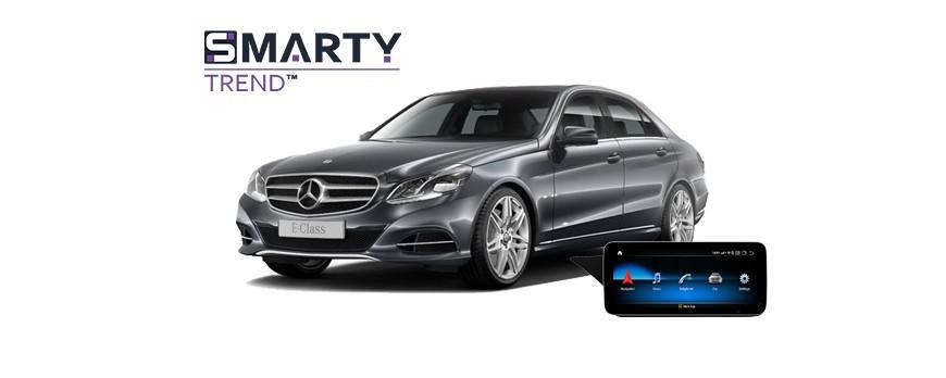 Mercedes-Benz E-Class 2015 (W212) Android Autoradio Con GPS Integrato Unità di Testa - SMARTY Trend.