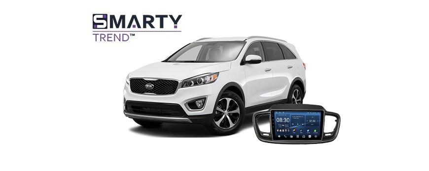 Kia Sorento 2016 Android Autoradio Con GPS Integrato Unità di Testa - SMARTY Trend.